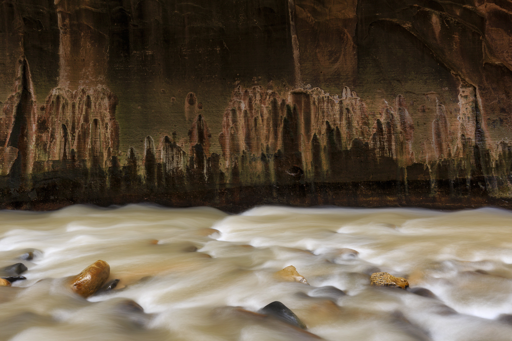 Rock Patterns in The Narrows