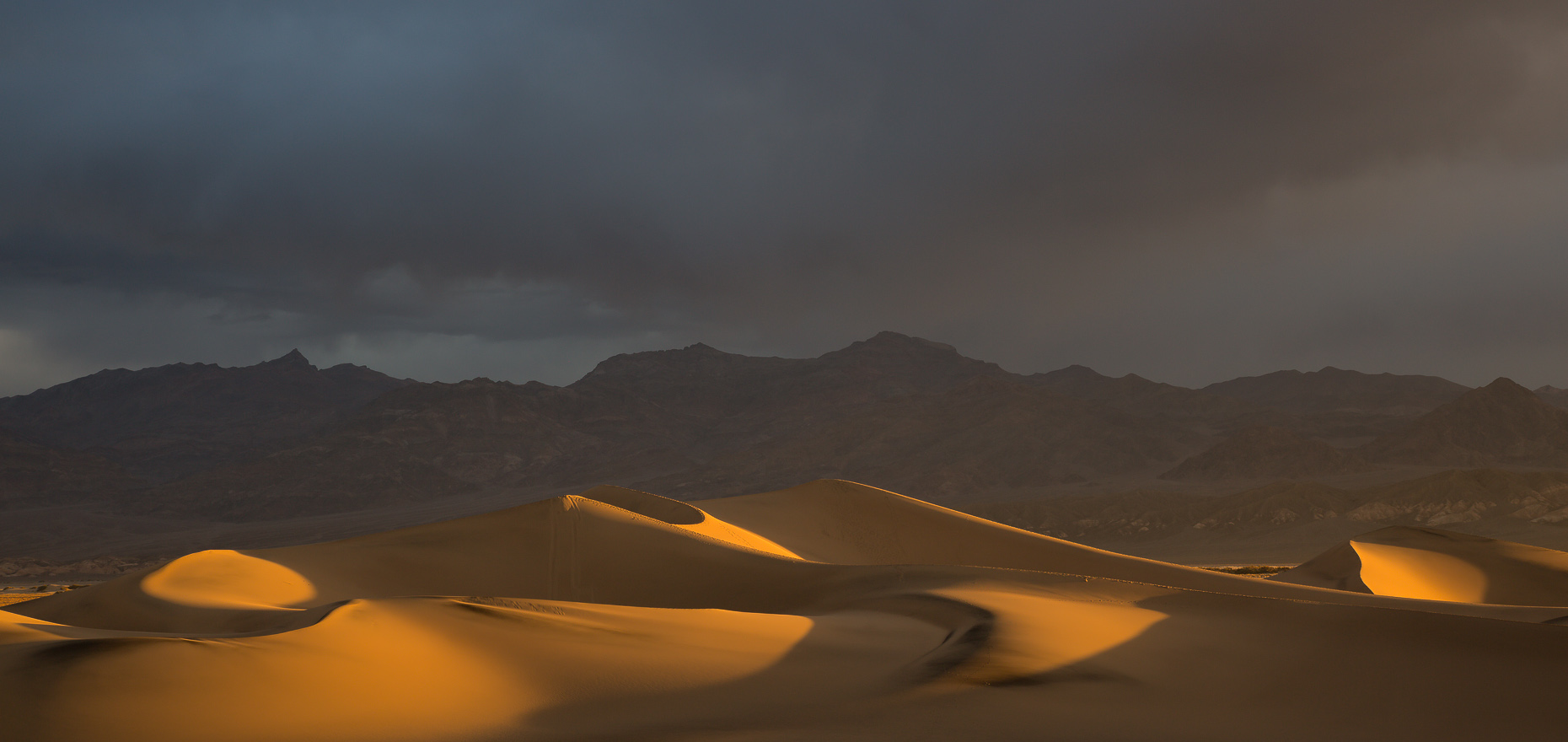 Stovepipe Wells Sand Dunes in Morning Light